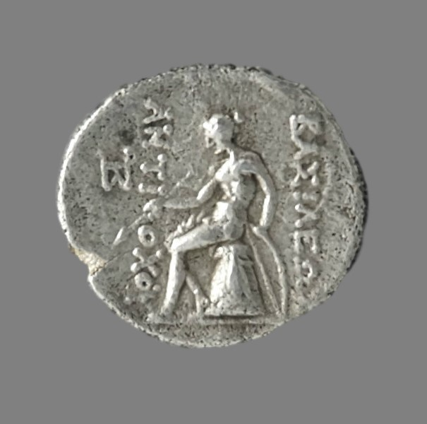 Very rare drachm from King Antiochos III (223-187 BC)