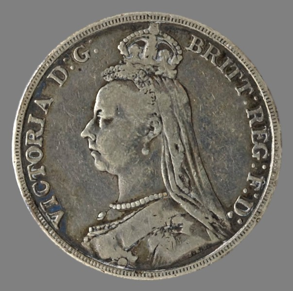 England, crown 1889