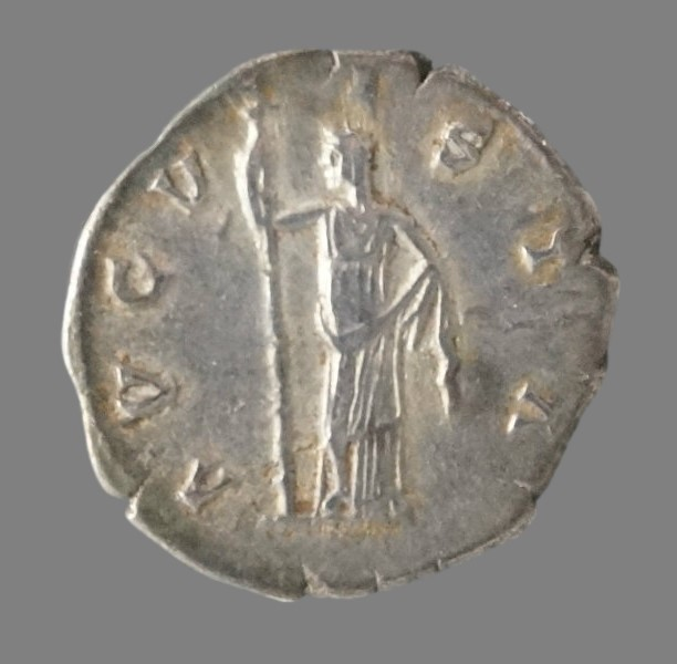 Denarius from Empress Faustina I (141 AD)