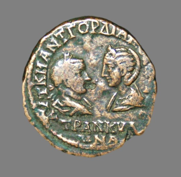 Æ27 from Emperor Gordian III 241-244 AD