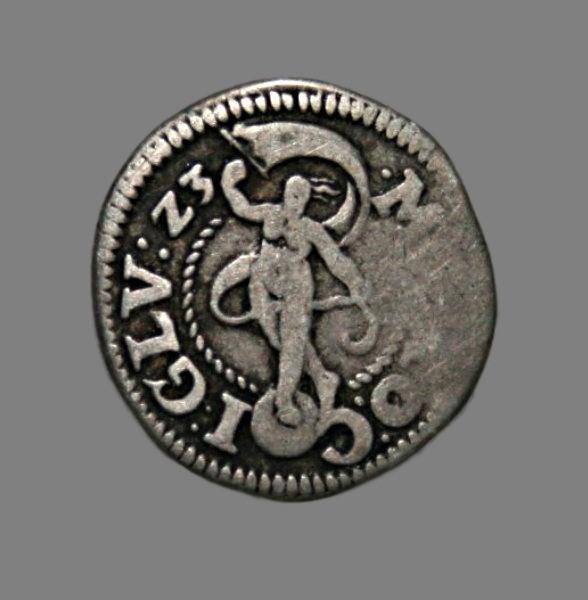 Denmark, 3 skilling 1623 Glückstadt