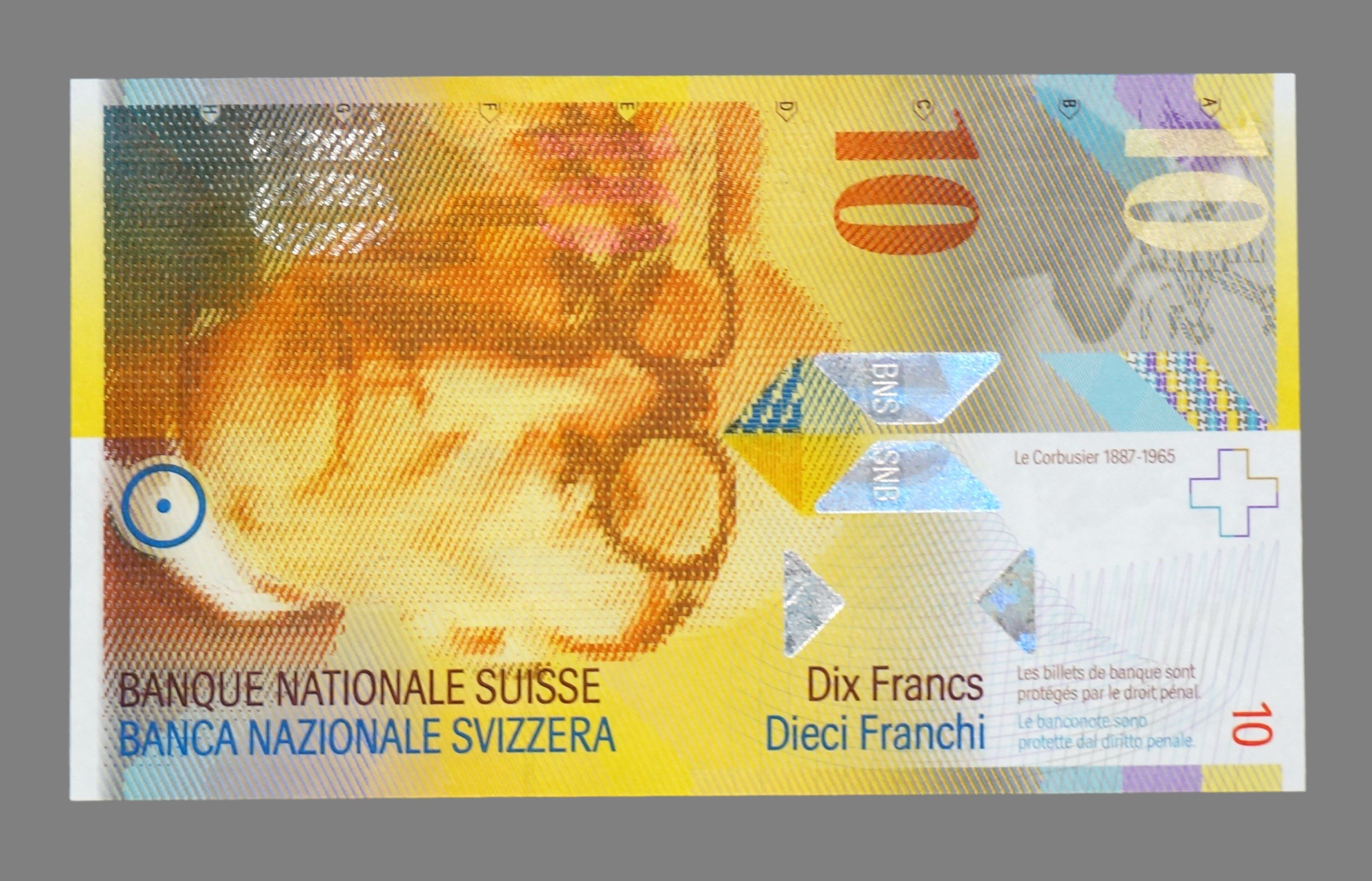 Switzerland, 10 francs 1997