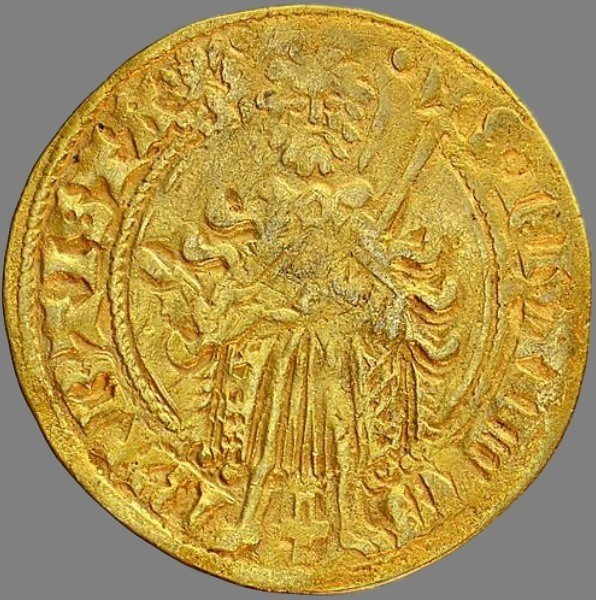 Netherlands, florin d'or (gold!) 1423-1472