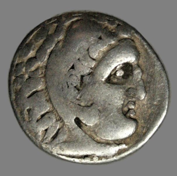 Drachm from Alexander the Great (336-323 BC)