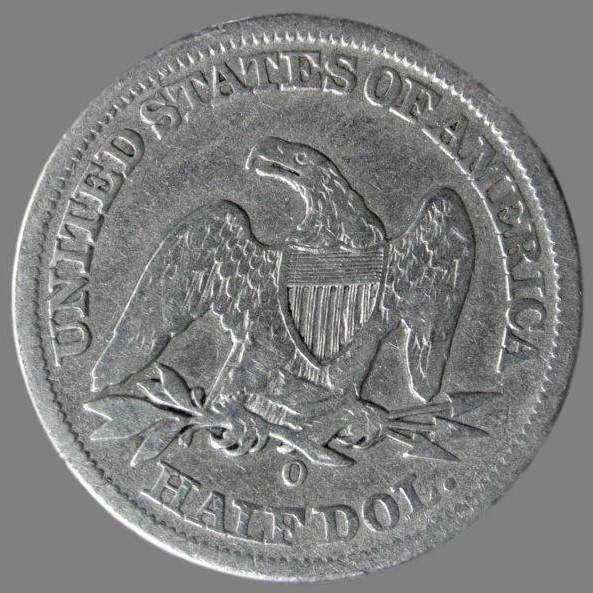 USA, ½ dollar («Liberty Seated») 1858