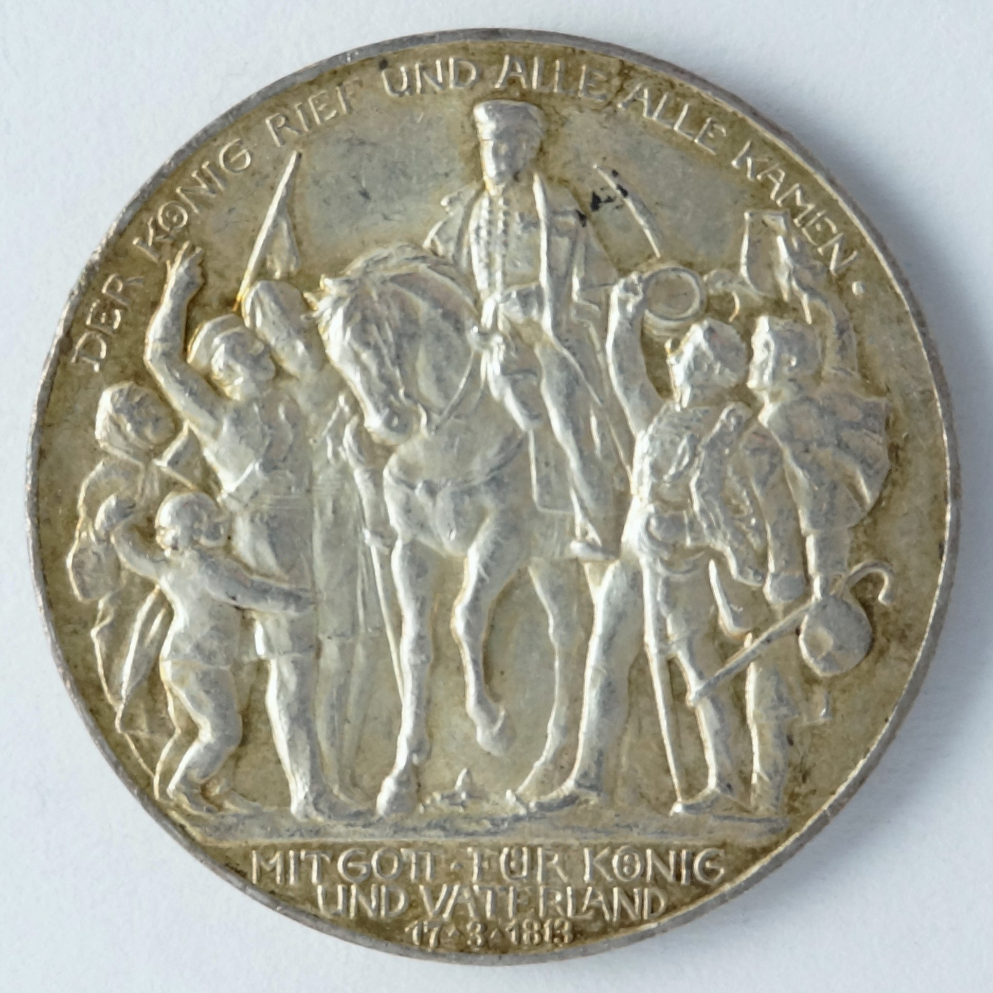 Prussia, 3 marks 1913